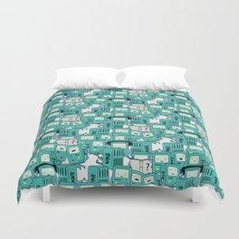 BMO patterns Duvet Cover