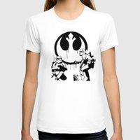 banksy T-shirts featuring Banksy Troopers by Don Calamari
