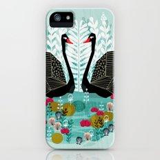 Swans by Andrea Lauren iPhone (5, 5s) Slim Case