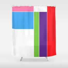 Color Test 1 Shower Curtain