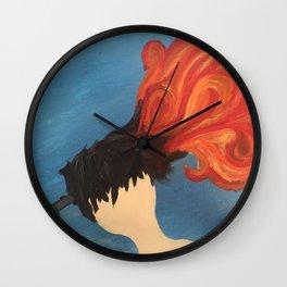 One Shot Wall Clock