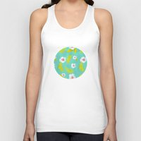 hibiscus Tank Tops featuring Hibiscus by Maya Bee Illustrations