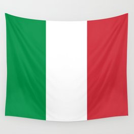 National Flag of Italy, High Quality Image Wall Tapestry