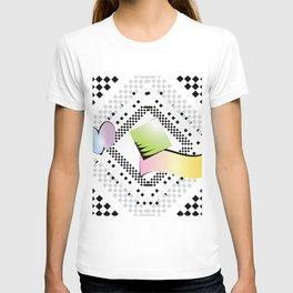 Checkered limbo T-shirt