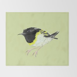 Stitchbird Throw Blanket