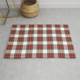Christmas Tartan Plaid Rug