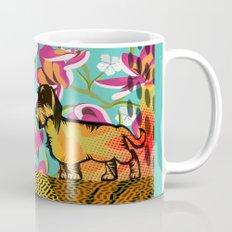 Dachshund  pop art Mug