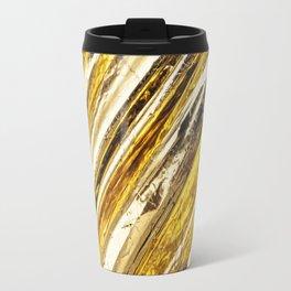 Shimmering Gold Foil Travel Mug