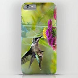 Sweet Hummingbird iPhone Case