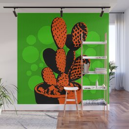 Cactus Art05_#4 Wall Mural