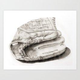 Glove Art Print