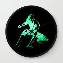 Heros Glitter Art - 6 Wall Clock