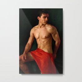 classical position Metal Print