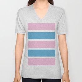 Transexual Pride Unisex V-Neck