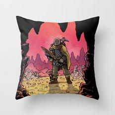 WonderCraft - Guest Artist: JunkBoy Throw Pillow