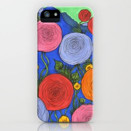 Colors in the Blue Ridge Mountains iPhone Case