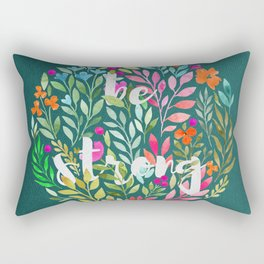 Be strong V2 - Just be Collection Rectangular Pillow