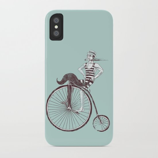 Mustache Handlebar iPhone Case