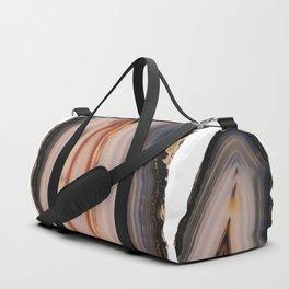 Natural Agate Duffle Bag