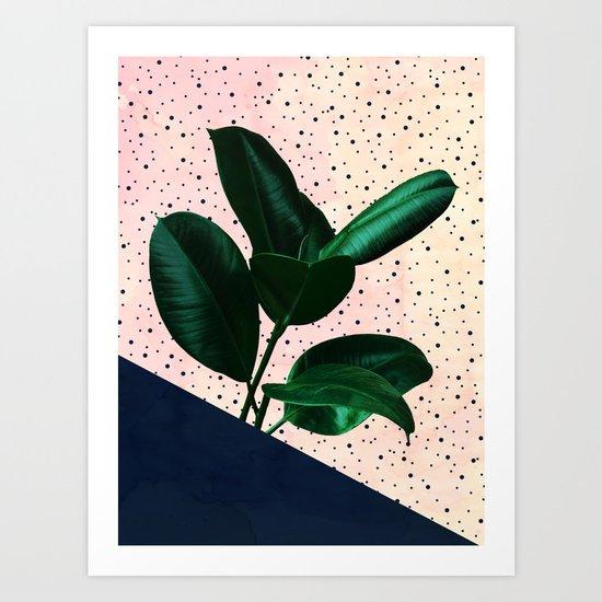 Chic Jungle Art Print