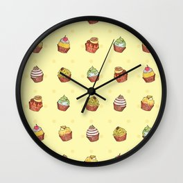 cup cake time! Wall Clock