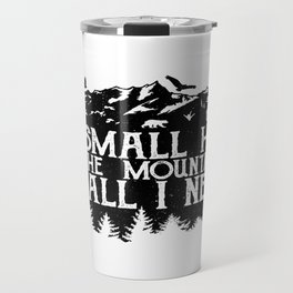 A Small Hut in the Mountains Travel Mug