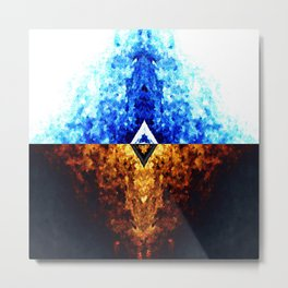 Split Alternate Metal Print