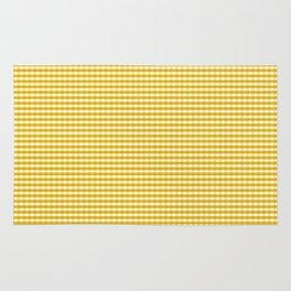 Mustard Gingham Rug