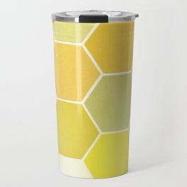 Shades of Yellow Travel Mug