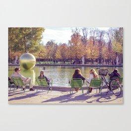 Meet me at Tuileries Canvas Print