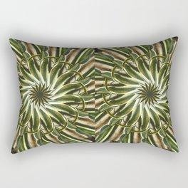 Cactus Garden Kaleidoscope 8 Rectangular Pillow