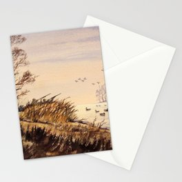 Duck Hunting Times Stationery Cards