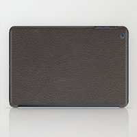 leather iPad Cases featuring Leather by Patterns and Textures
