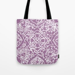 Isola lace signature print by JDZ Designs  Tote Bag