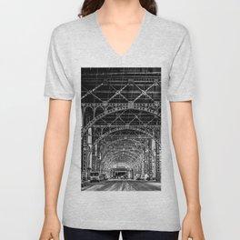 Riverside Drive Viaduct Unisex V-Neck