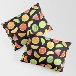 Night Fruit Salad Pillow Sham