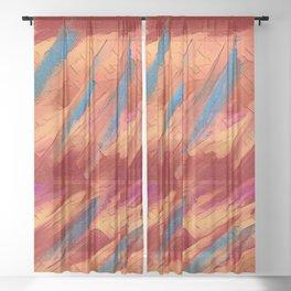 Abs Varied-- Sheer Curtain