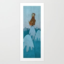 Man of the Mountains Art Print