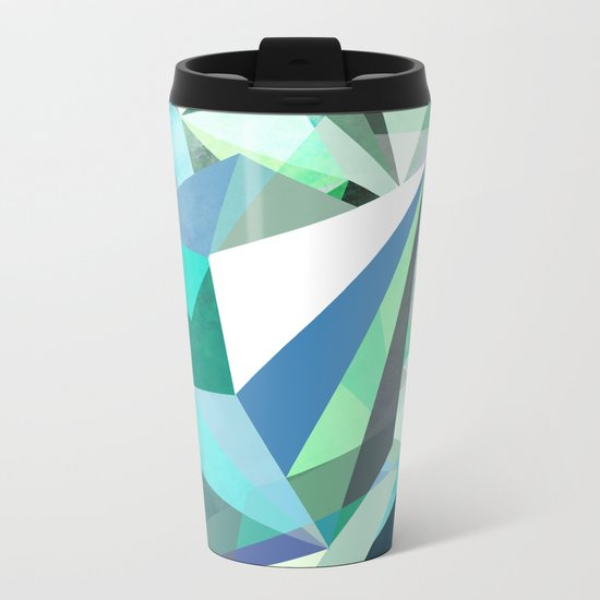 Colorflash 8 mint Metal Travel Mug