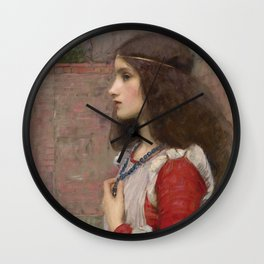 "John William Waterhouse ""Juliet"" Wall Clock"