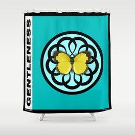 Fruit of the Spirit, Gentleness (Sea Blue) Shower Curtain