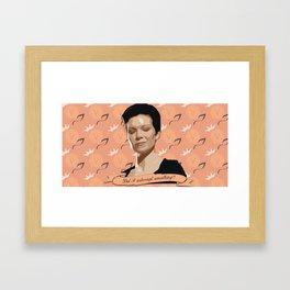 Interruptions  Framed Art Print