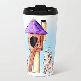 Cat Condo Housewarming Travel Mug