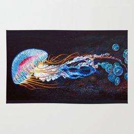 Nebula Jellyfish Rug