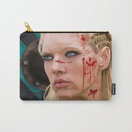Lagatha Shield Maiden Painting Carry-All Pouch