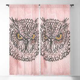 Owl I Blackout Curtain
