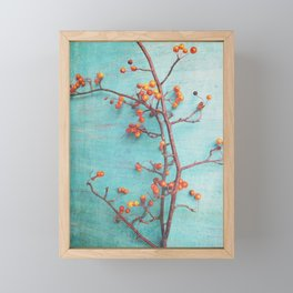 She Hung Her Dreams on Branches Framed Mini Art Print