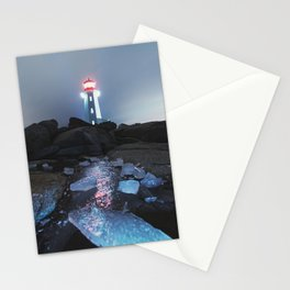Shards of Winter Stationery Cards