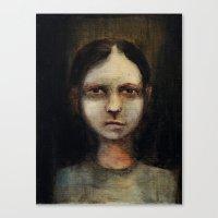 titan Canvas Prints featuring Titan by Basia Bimczok