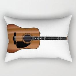 Acoustic Guitar Rectangular Pillow